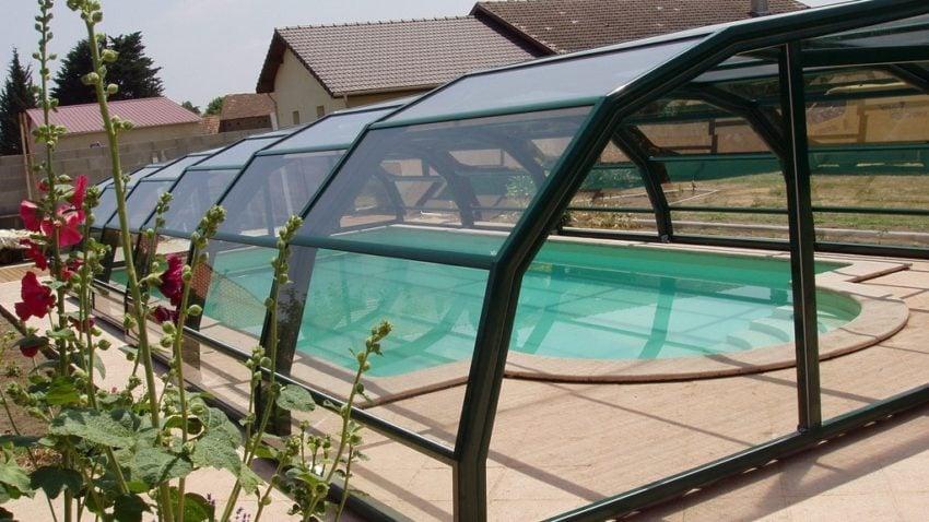 abri de piscine interm diaire projet abri de piscine vannes morbihan. Black Bedroom Furniture Sets. Home Design Ideas