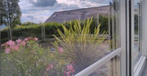 Abri de piscine en polycarbonate