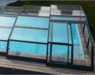 Abri piscine intermédiaire _ ideal pour profitez pleinement de sa piscine